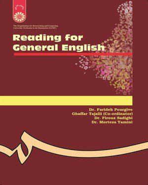کتاب              Reading for General English